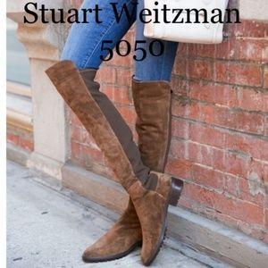 2019🆕STUART WEITZMAN 5050 OVER THE KNEE OTK Boot